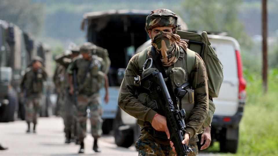 Ghatak Commandos in full gear