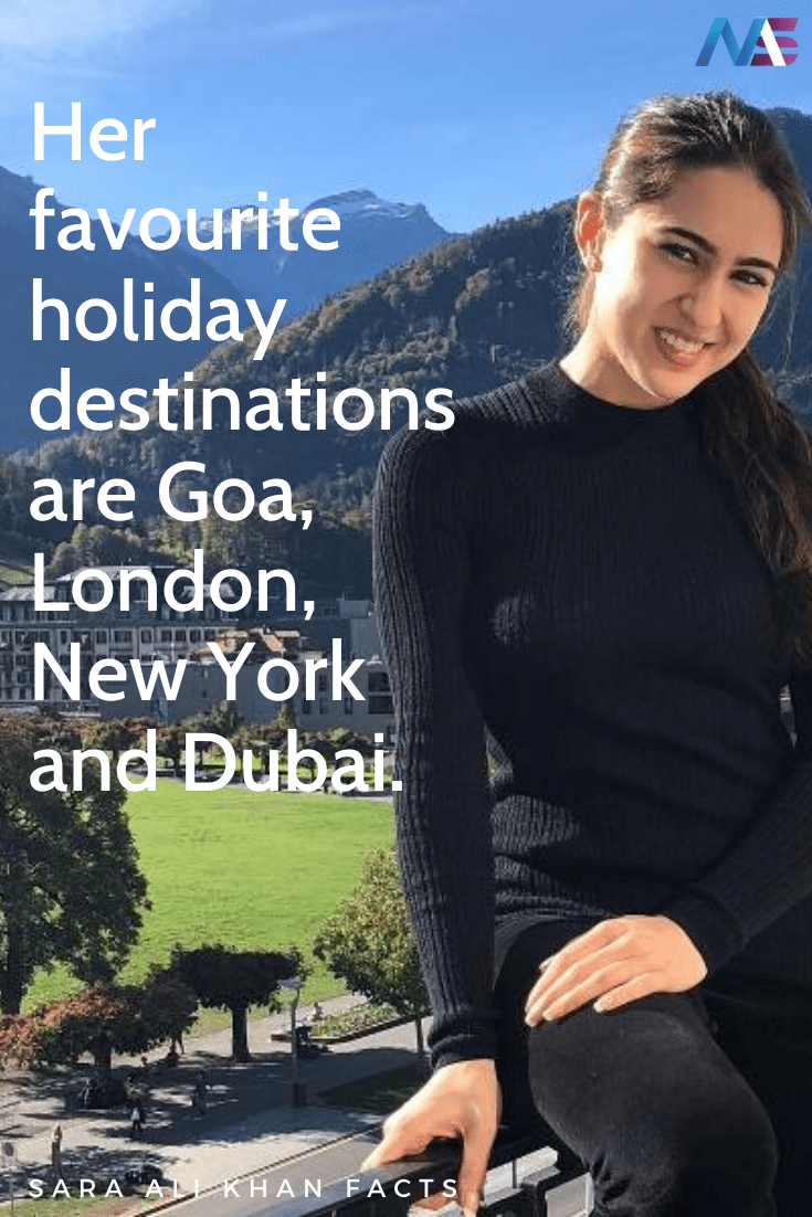 Sara Ali Khan facts