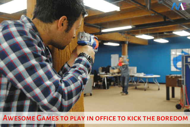 15+ Awesome Games to play in office to kick the boredom away