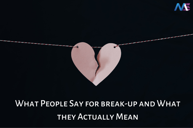 What People Say in Relationship and What they Actually Mean