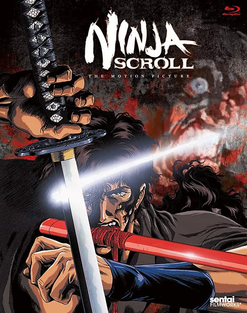 best anime movies of all times - Ninja Scroll