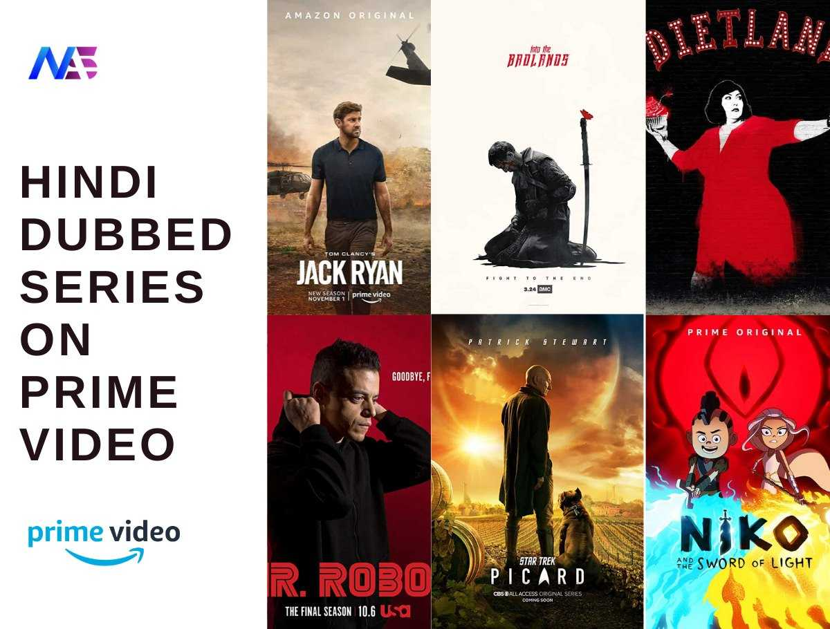 Hindi Dubbed series on prime video