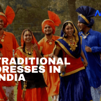 Traditional Dresses Of Different States of India