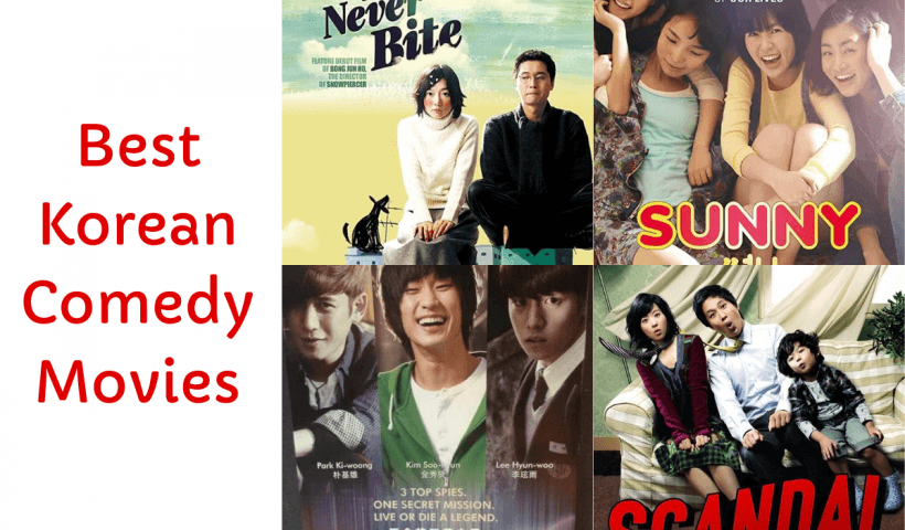 Best Korean Comedy Movies