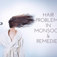 Hair Problems Faced By Girls During Monsoon And The Remedies
