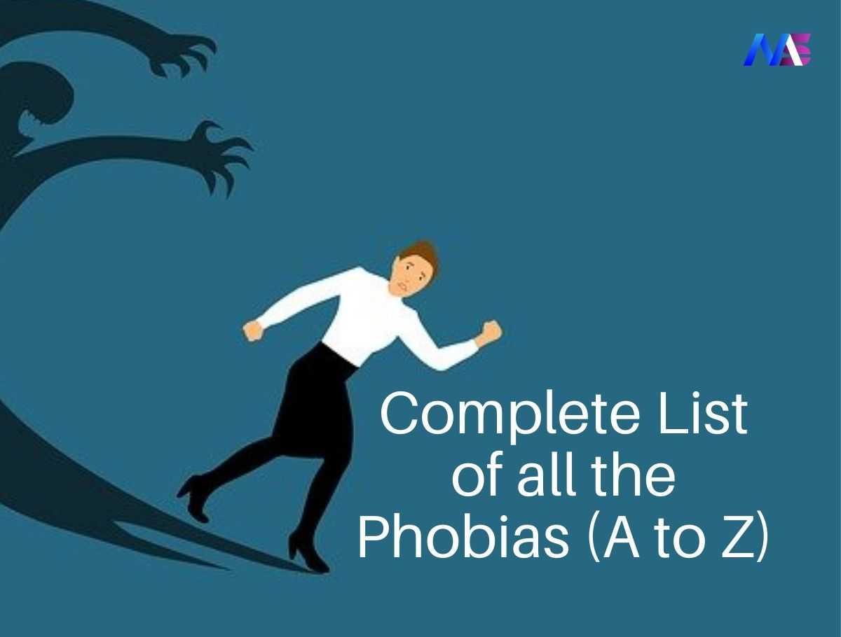 Phobia a to z