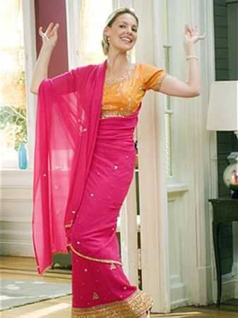 Katherine Heigl in Saree