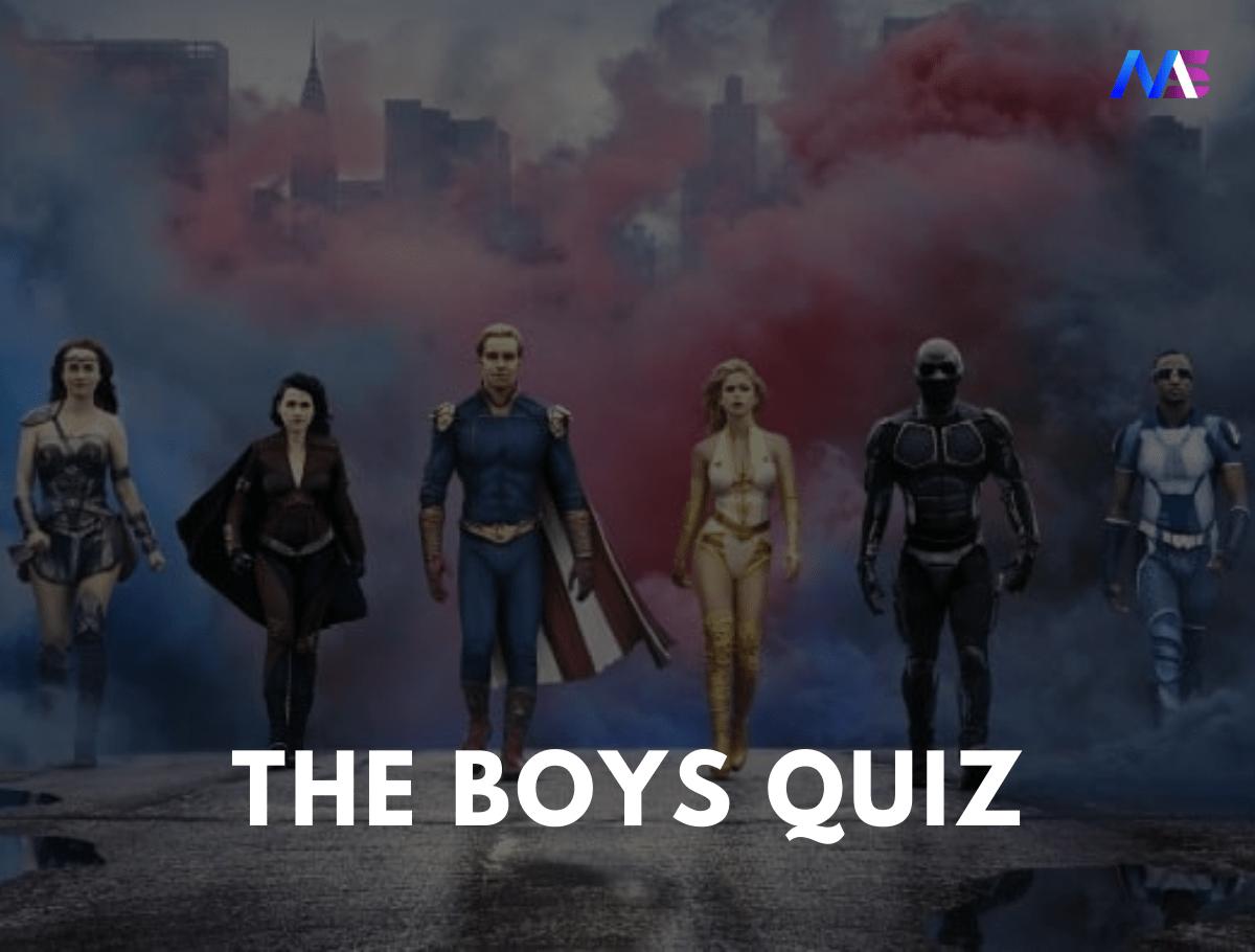 The Boys Quiz
