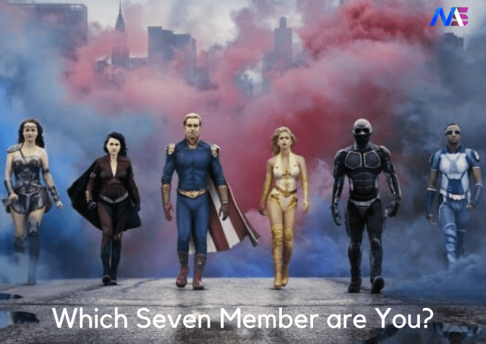 Which Member Of The Seven Are You