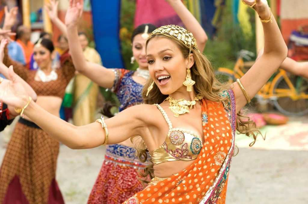 Jessica Alba in Saree