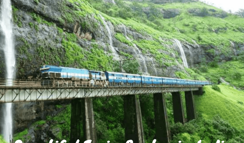 Beautiful Train Routes in India