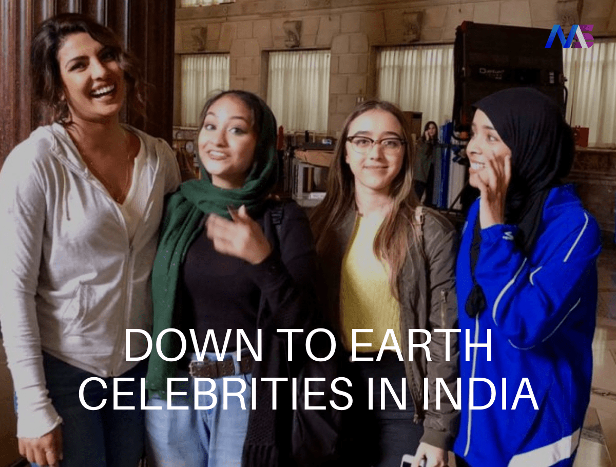 Down To Earth Celebrities In India