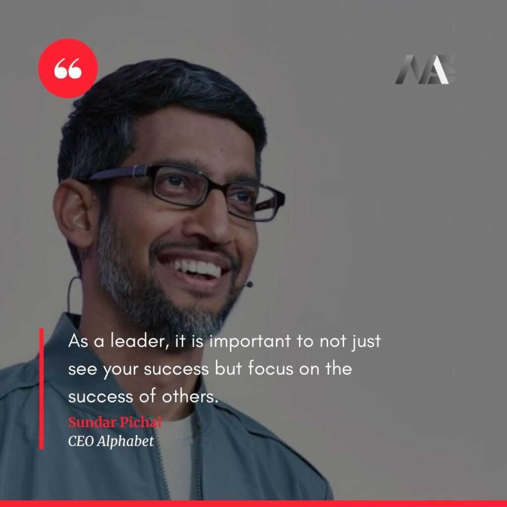 Quote by sundar pichai