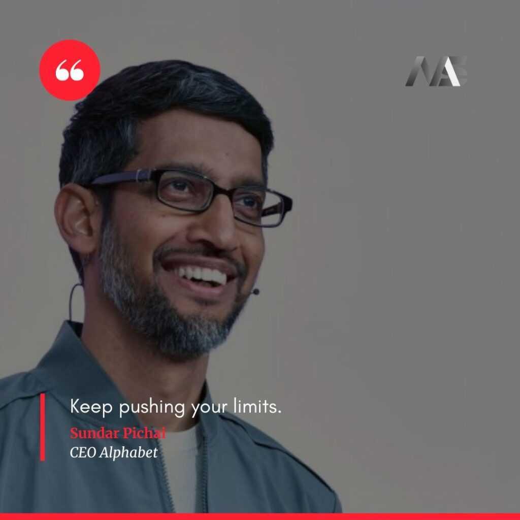 Quotes by Sundar Pichai