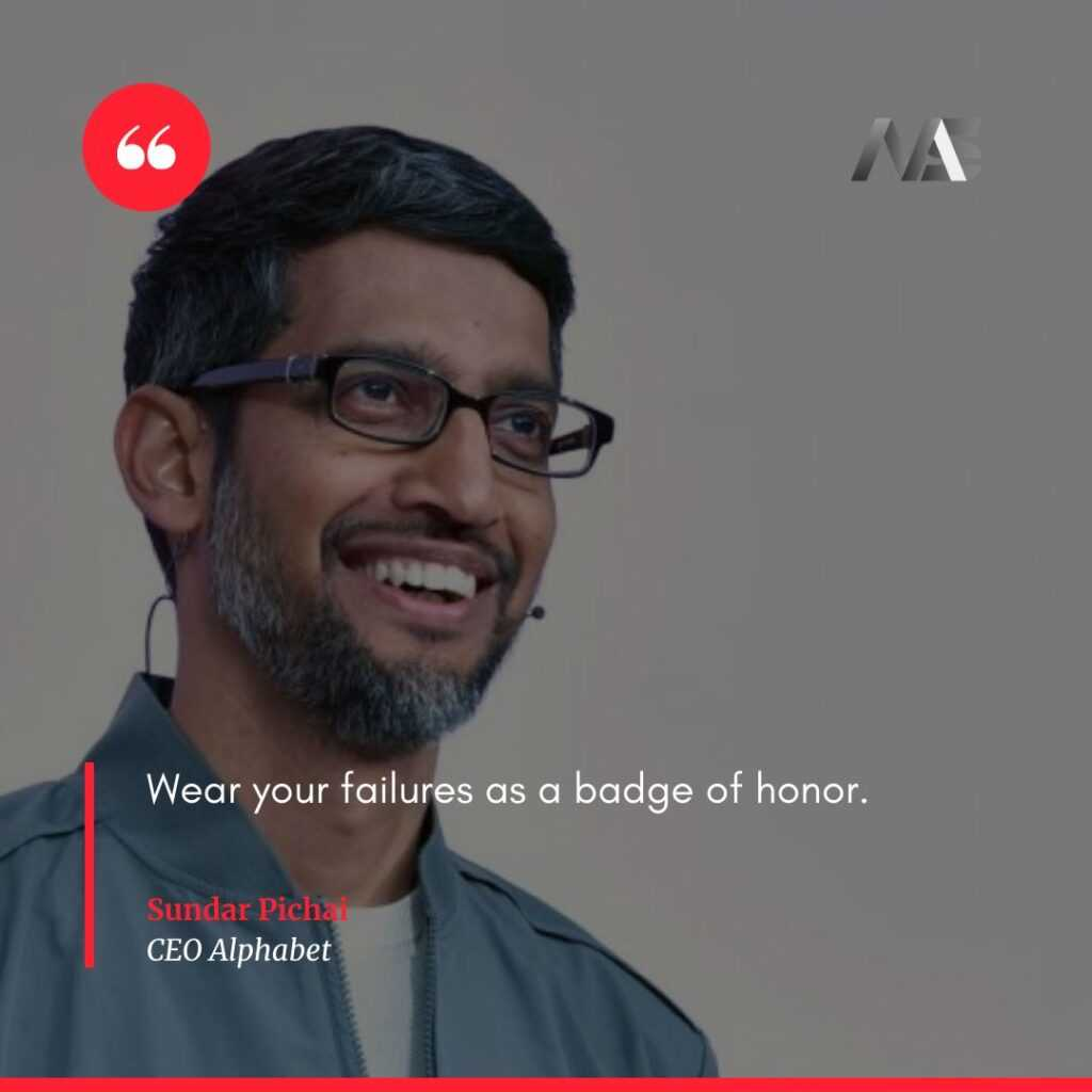 Quotes by Sundar Pichai CEO