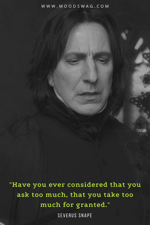 Severus snape quotes